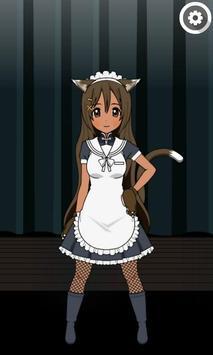 Anime match 3 game screenshot 1