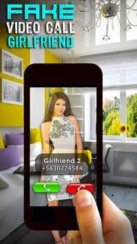 Fake Video Call Girlfriend screenshot 8