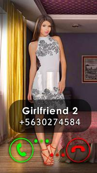 Fake Video Call Girlfriend poster
