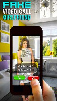 Fake Video Call Girlfriend screenshot 2