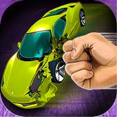 Simulator Crush Sport Car icon