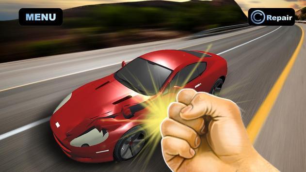 Simulator Crush Sport Car poster