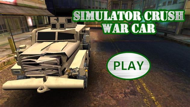 Simulator Crush War Car screenshot 5