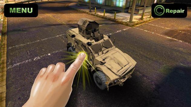Simulator Crush War Car screenshot 1