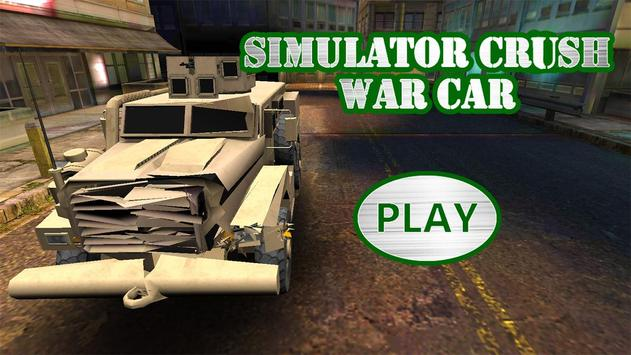 Simulator Crush War Car screenshot 2