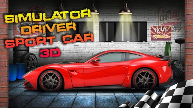 Simulator Driver Sport Car 3D screenshot 2