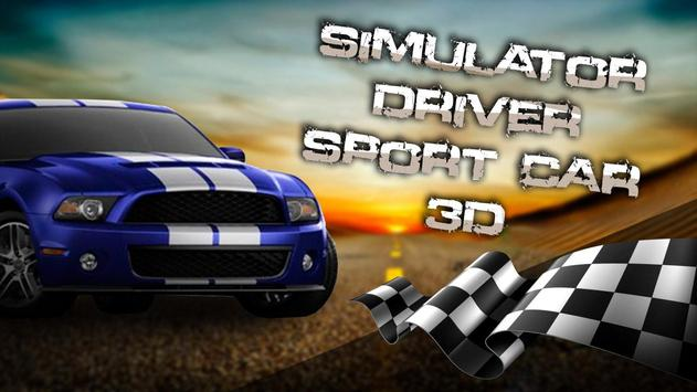 Simulator Driver Sport Car 3D screenshot 3