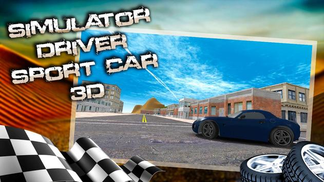 Simulator Driver Sport Car 3D screenshot 4