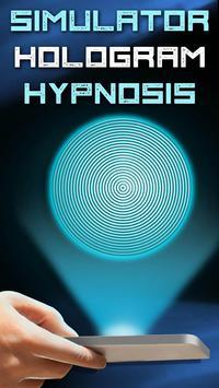 Simulator Hologram Hypnosis poster