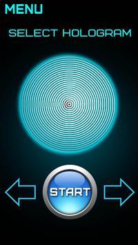 Simulator Hologram Hypnosis screenshot 1