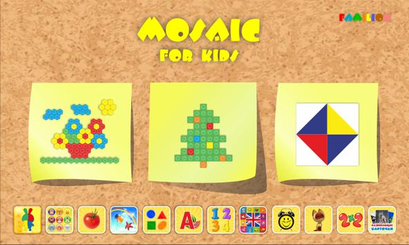 Mosaic for kids poster