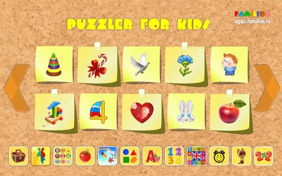 Puzzler for kids apk screenshot