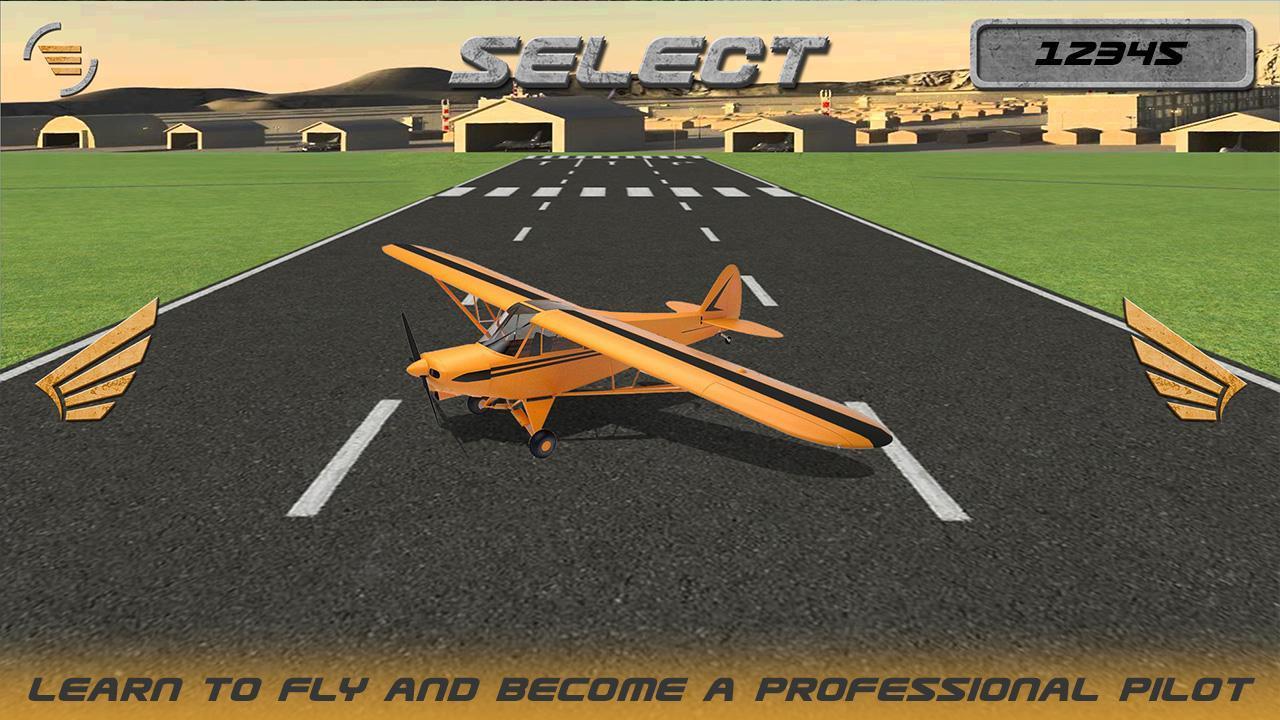 Flugzeug Simulator Spiele