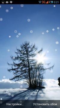 Fractal Snowfall Live ❄ apk screenshot