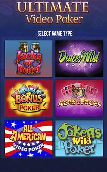 Ultimate Video Poker casino apk screenshot