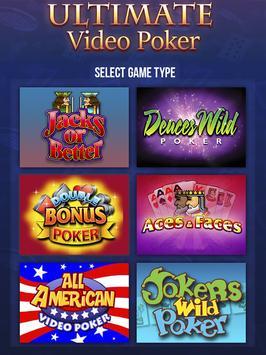 Ultimate Video Poker casino poster