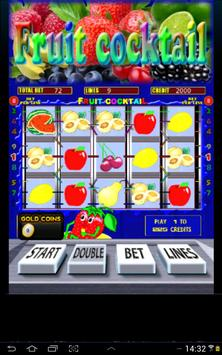 Fruit Cocktail Slots apk screenshot