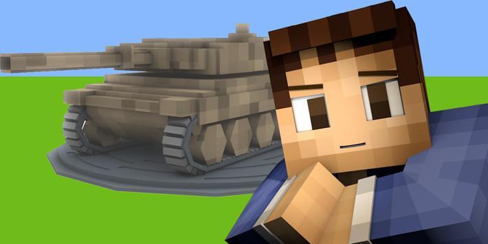 Tanks Mod for Minecraft apk screenshot
