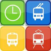 Общественный транспорт icon