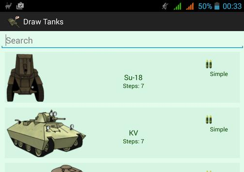 How To Draw Tanks screenshot 8