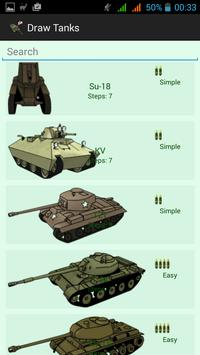 How To Draw Tanks poster