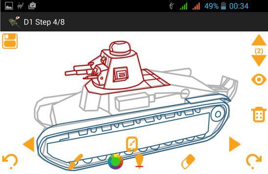 How To Draw Tanks screenshot 13