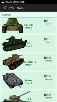How To Draw Tanks screenshot 1
