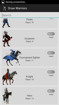 How Draw Warriors and Soldiers apk screenshot