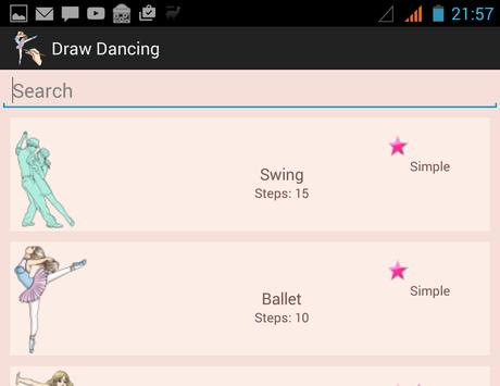 How To Draw Dancing poster
