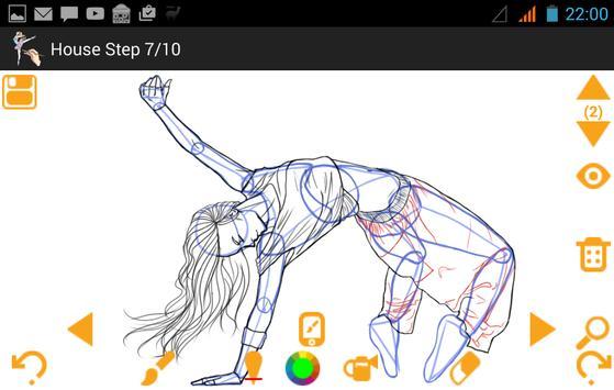 How To Draw Dancing apk screenshot