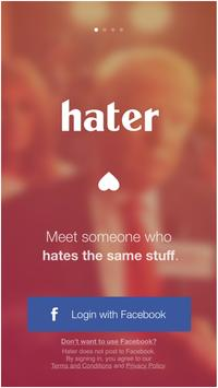 Hater dating apk
