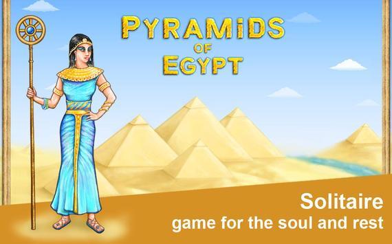 Pyramids of Egypt poster