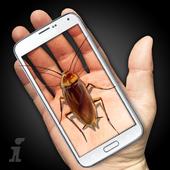 Cockroach Hand Funny Joke icon