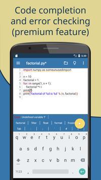 Pydroid screenshot 4