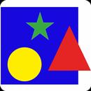 APK Учим цвета и фигуры для детей