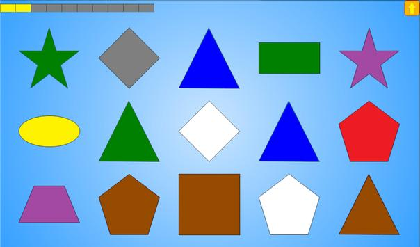 Colors and shapes for children apk screenshot