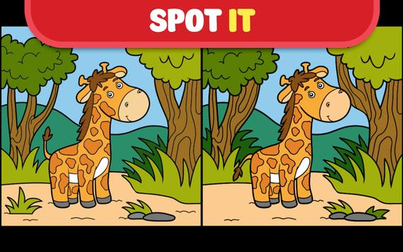 Spot it! Find the differences for baby boy & girl! poster
