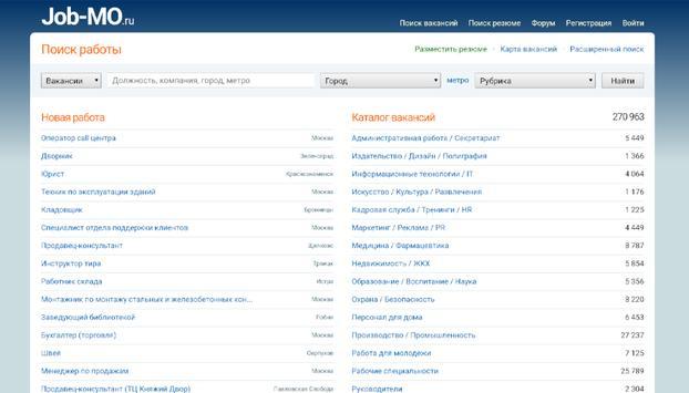 Job-MO.ru screenshot 4