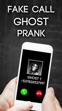 Fake Call Ghost Prank poster