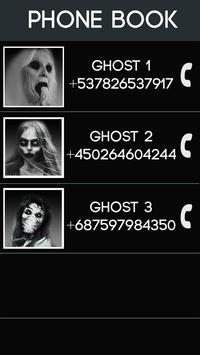 Fake Call Ghost Prank screenshot 1