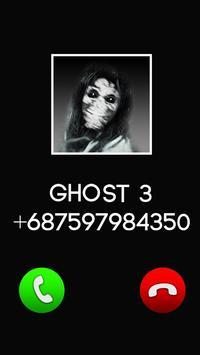 Fake Call Ghost Prank screenshot 2