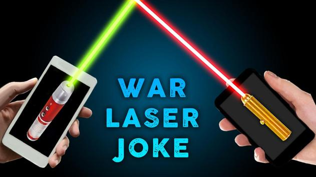 Laser War Joke poster
