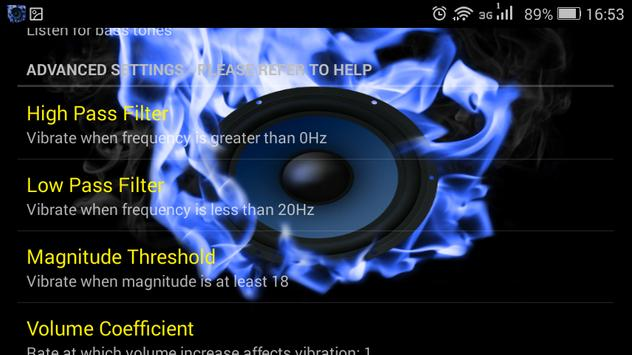 Video and Music Bass apk screenshot