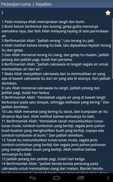 Indonesian Holy Bible apk screenshot