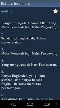 Al-Qur'an Quran in Indonesian apk screenshot