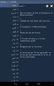 Corán - Quran in Spanish apk screenshot