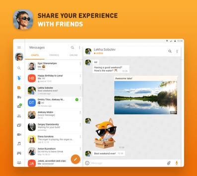 Одноклассники – социальная сеть скриншот приложения