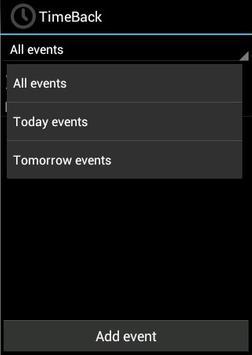 TimeBack apk screenshot