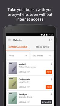 Read books online apk screenshot