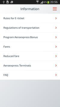Aeroexpress apk screenshot